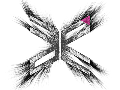 Public Functionary logo experiments 3d abstract logo