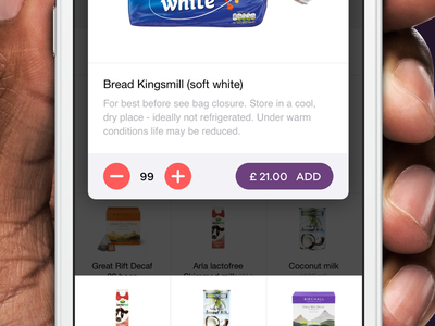 Delivery service groceries app store mobile delivery