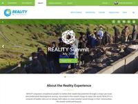 Reality landing page