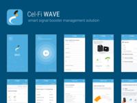 Cel-Fi Wave app