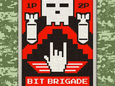 Bit Brigade art illustration design music