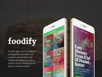Foodify App UI KIT