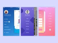Mobile App Menus