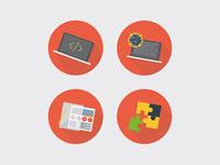 Website vector illustrations