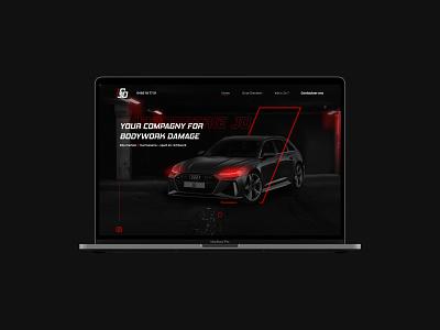 Carrosserie Jo 🏎️ design responsive design mobile design webdesign ux cars website branding graphic design ui