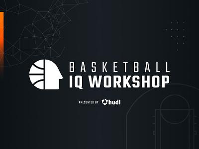 Basketball IQ Workshop Logo workshop iq basketball logo