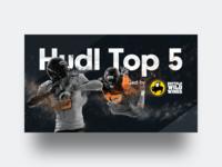 Hudl Top 5 Branding