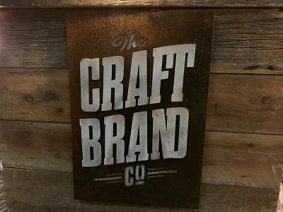 Craft Brand Co vector logotype logo logo design