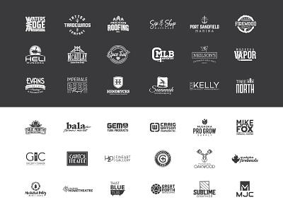 Logo Collection branding corporate identity logotype logo logo design