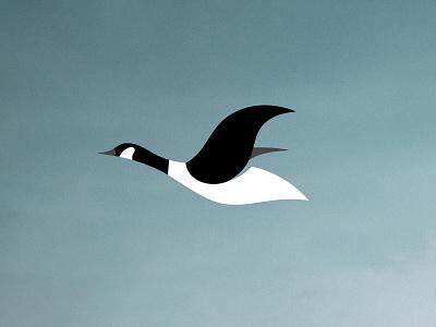 Canada Goose canada goose symbol logo mark graphic design design logo design logo