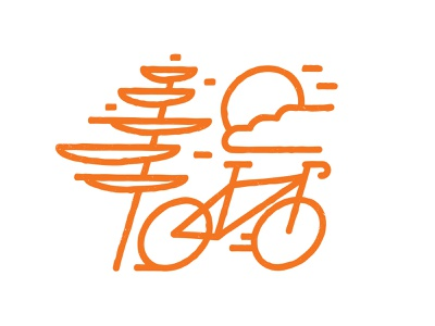 Fast Bike road bike bike bicycle logo vector illustration