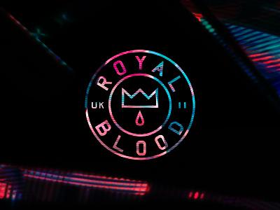 Royal Blood logo badge royal crown blood