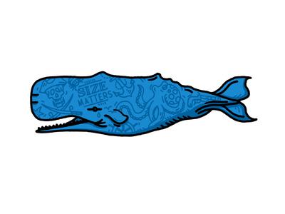 Tattooed Whale