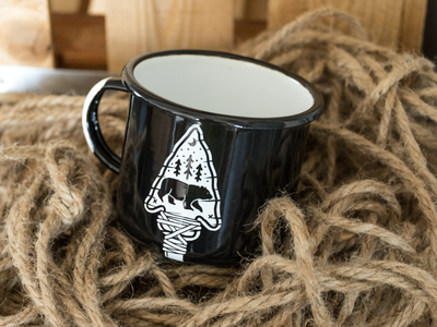 The Great Black Bear Mug