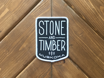 Stone And Timber Patch