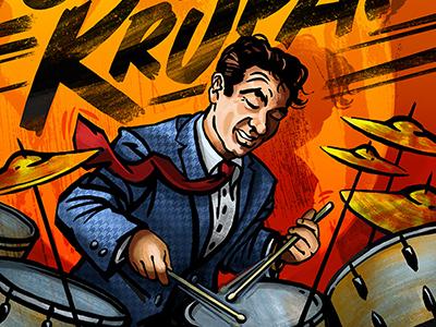Gene Krupa!