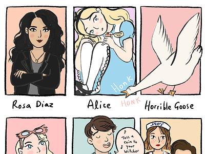 #SixFanArts fan art art comics illustration