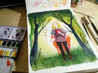 Watercolour Work In Progress