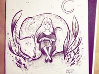 Bear & Moon