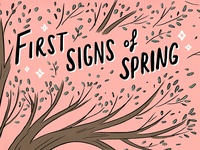 First Signs Of Spring Comic