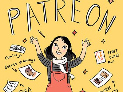 Now On Patreon! onpatreon digital art comic art drawing comics illustration