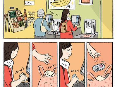 Apple Lattice Diary Comic illustration web comic comic books comics comic art comic
