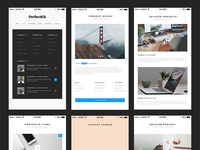 Freebie: PerfectKit – desktop & mobile ready modern UI kit
