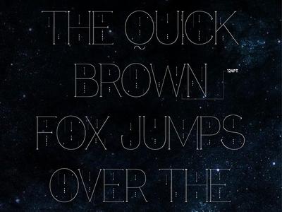 Fina - ultra thin, modern free font