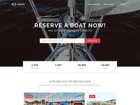 Nava free HTML template
