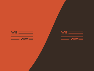 We wave 浪 Branding video branding logo pattern colors logotype typography design brand design brand identity