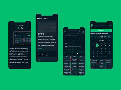 Phiadvisor Responsive design chart date search responsive design mobile graphic design interface design uiux ui design design