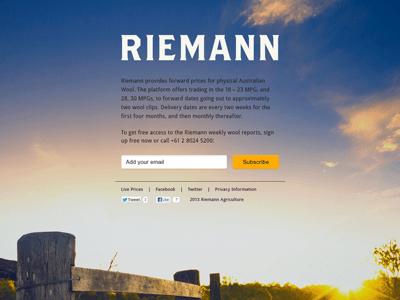 Riemannweb