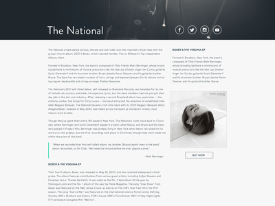 Blog post template blog post template theme article biography clean grid wordpress website