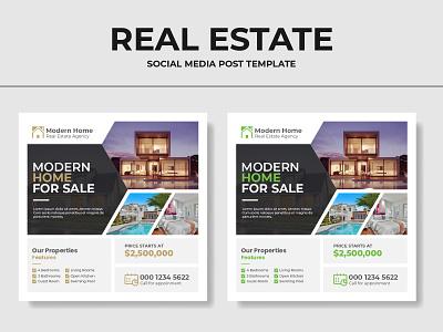 Real Estate Business Banner Ads | Instagram Post design 2021 trend social banner instagram branding graphic design banner