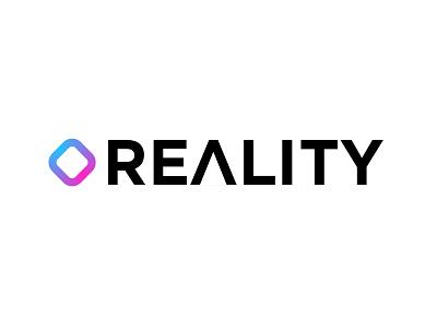 REALITY LOGO & UI Design design ui logo vtuber reality