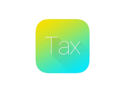 Tax Calc yellow green ui icon tax