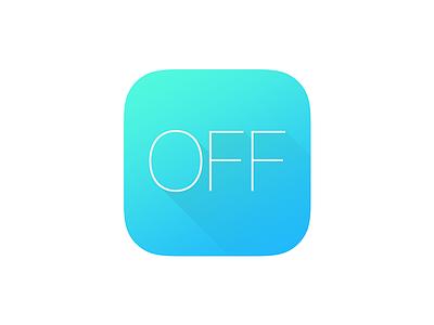Discount icon blue ui app ios