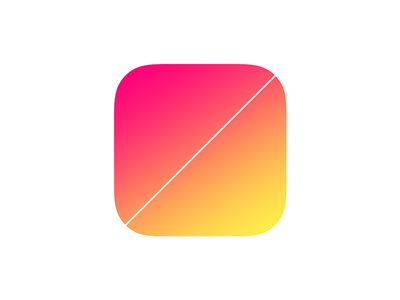 Split Bill yellow red icon app ios split bill