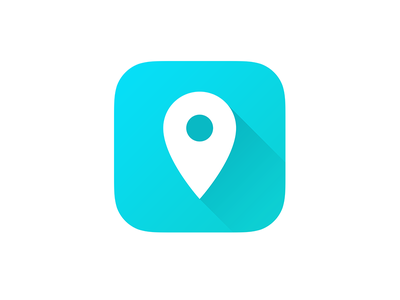 Map App Icon map