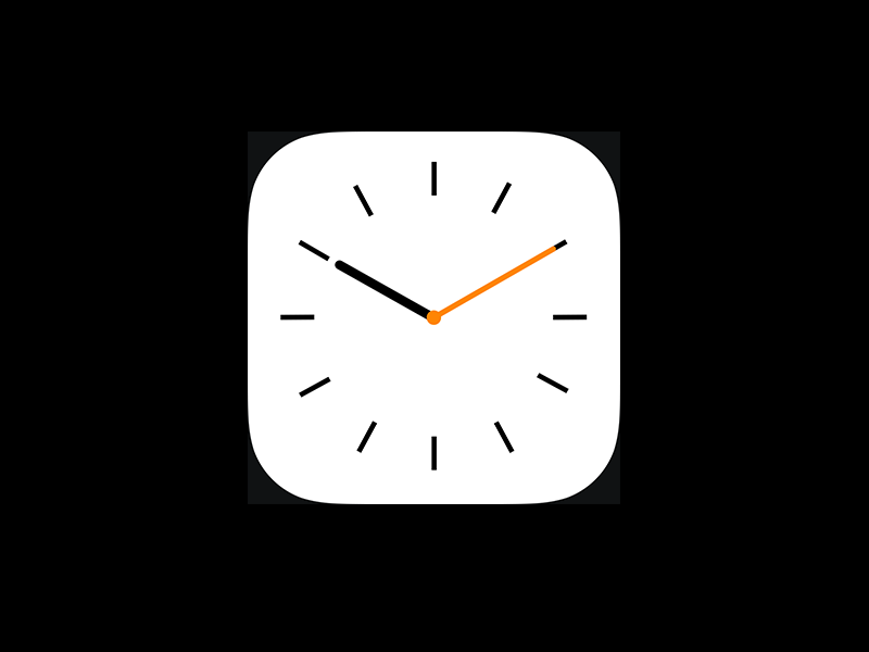 Icon clocklearning dribble