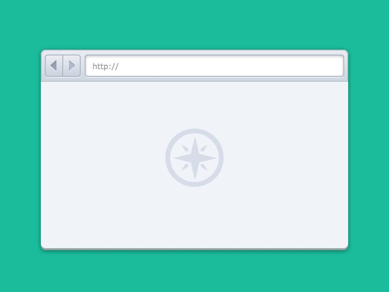 Freebie: Sketch Simple Browser UI (@2x) download @2x sketch freebie browser free ui retina