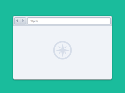 Freebie: Sketch Simple Browser UI (@2x)