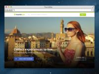 TouristEye Home Screen