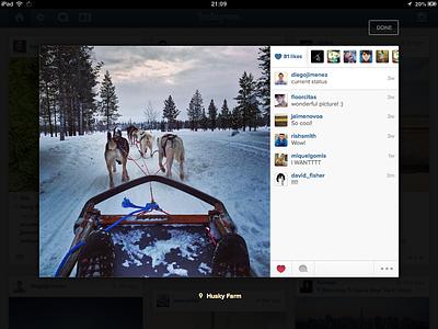 Instagram for iPad instagram ipad app photos grid