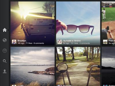 Instagram Visualization App for iPad