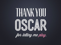 Thank Your Oscar