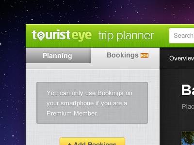 Trip Planner Web App
