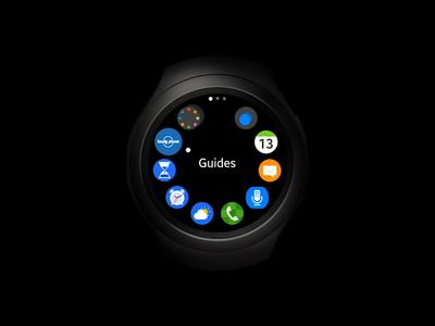 Samsung Gear S3 Watch App Prototype (Video)