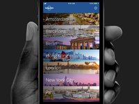 Make My Day App - Lonely Planet