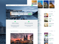 Tripadvisor homepage redesign
